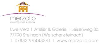Merzolio – Kunstobjekte & Design | Steinach