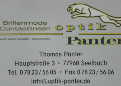 Optik Panter | Seelbach