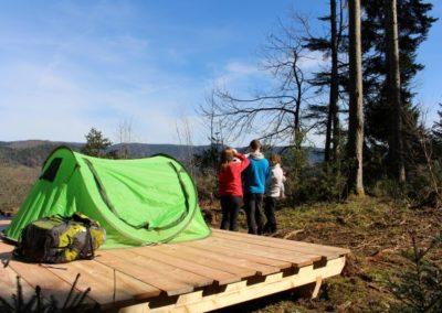 Trekking Camp am Renchtalsteig  | Oppenau