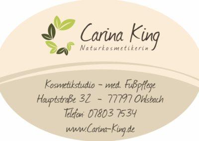 Naturkosmetikstudio Carina King | Ohlsbach