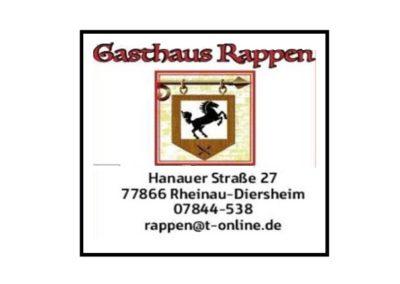 Gasthaus Rappen | Rheinau-Diersheim