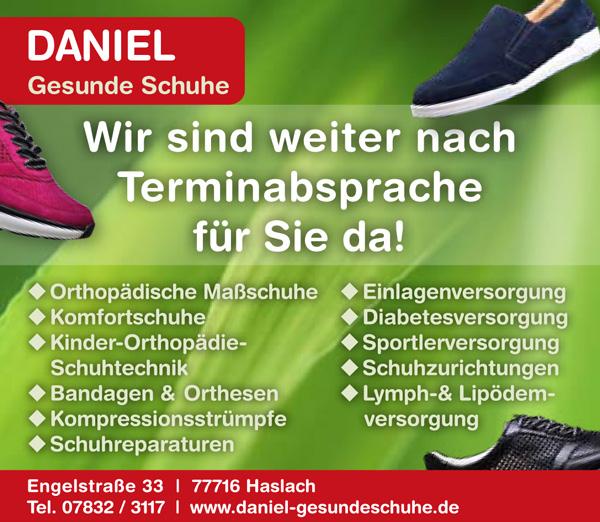 Daniel Gesunde Schuhe | Haslach