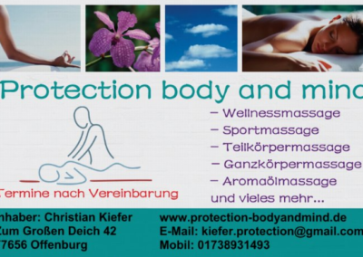 Protection body and mind | Offenburg